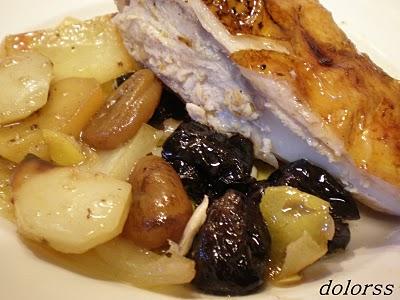 Pollo relleno al horno de leña (6)