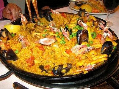 arroz valeciano muy peruano