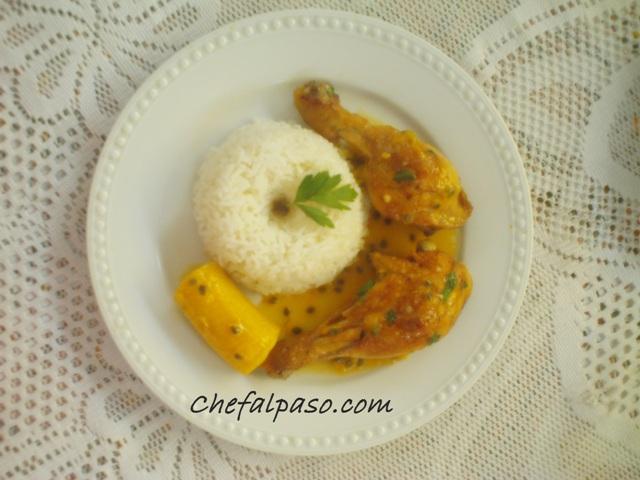 muslitos de pollo en salsa de maracuya(2)