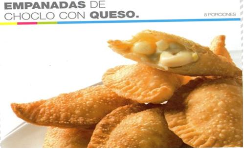 Empanadas de choclo con queso