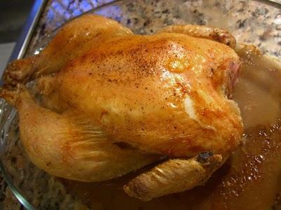 pollo al horno por navidad