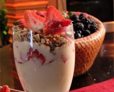 al sabor del chef parfait de fresas