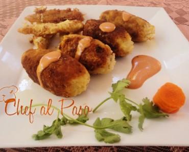 pollo gratinado con arroz frito(2)