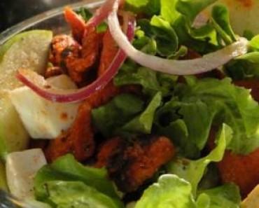 ensaladacon cecina-enchilada