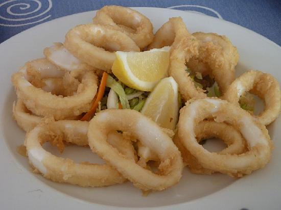 calamares rebozados