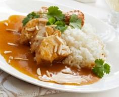 Pechugas de pollo al curry