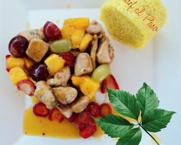 pollo frutado chef al paso