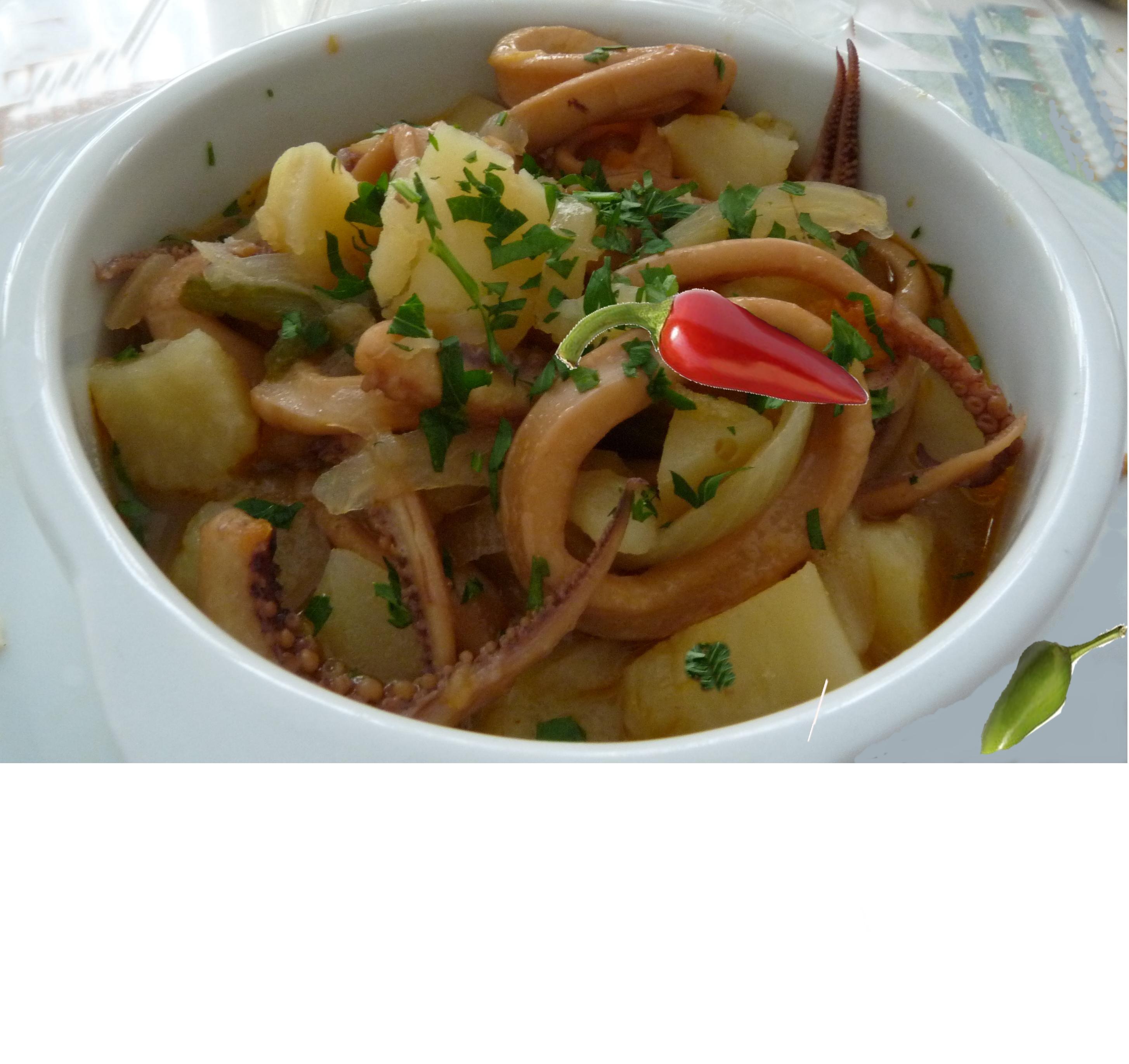 recetas de calamares