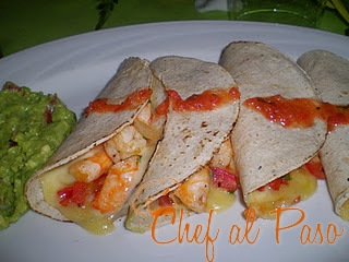 quesadillas camaron