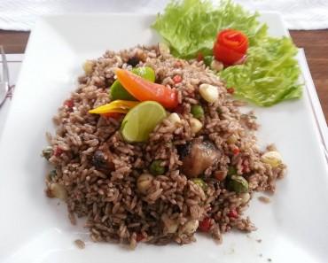 arroz con conchas negras