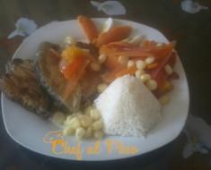 escabeche de pescado con arroz 4