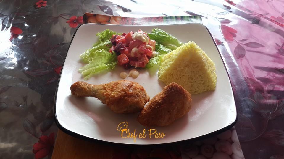 recipe: ensalada rusa con pollo al horno [20]