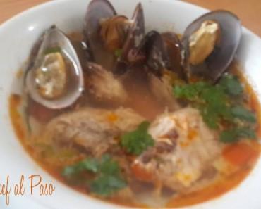 sopa de mejillones y pescado 2