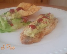 filetes de corvina con guacamole 3