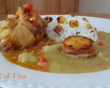 Guiso de pollo con arroz y alverja verde 2