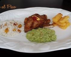 pampanito frito con salsa guacamole 2
