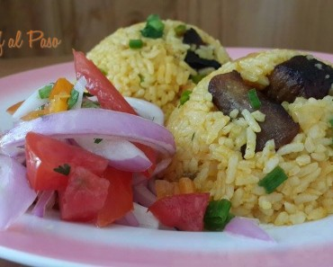 arroz con chancho y ensalda criolla 5