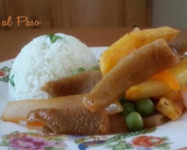 mondonguito a la italiana con arroz blanco 5