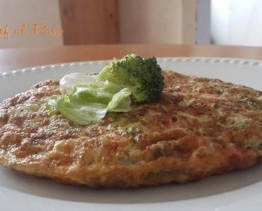 tortilla de brocoli y lechuga repollada 2