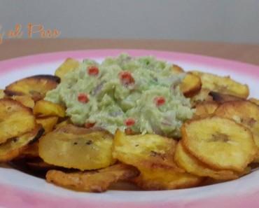 guacamole con chifles 3