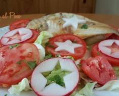 pampanito a la plancha con ensalada fresca  4