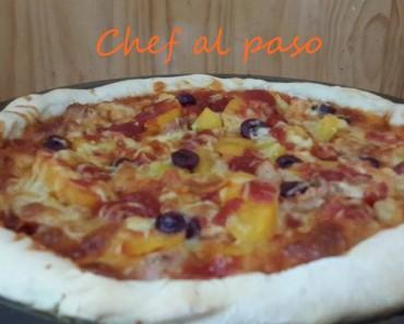 Pizza salsa barbecue BBQ 2