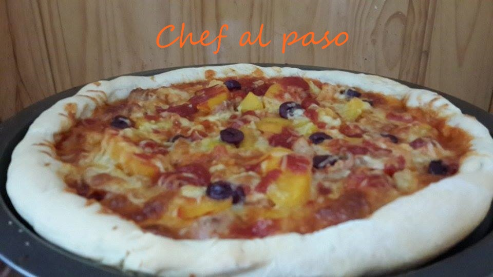 Pizza salsa barbecue BBQ 2