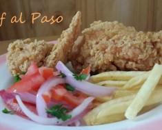 pollo crocante con ensalada criolla 2