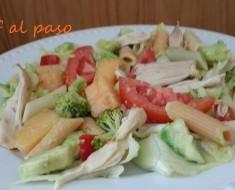 ensalada de pasta con pollo 3
