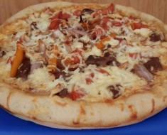 pizza de lomo saltado papa Julio
