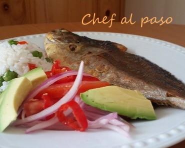 pampanito frito con salsa criolla 6