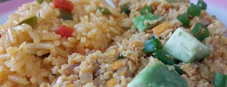 tollito aliñado con arroz amarillo 5