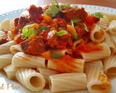 macarrones en salsa de carne 2