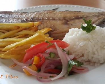 pampanito frito con arroz y papitas fritas 3