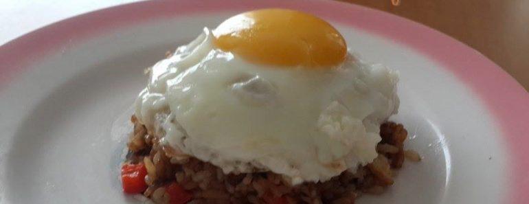 arroz chufa con huevo montado 2