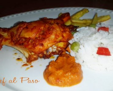Pollo tondoori con arroz  2