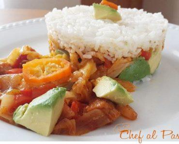 arroz tapado con arrimado de repollo 6
