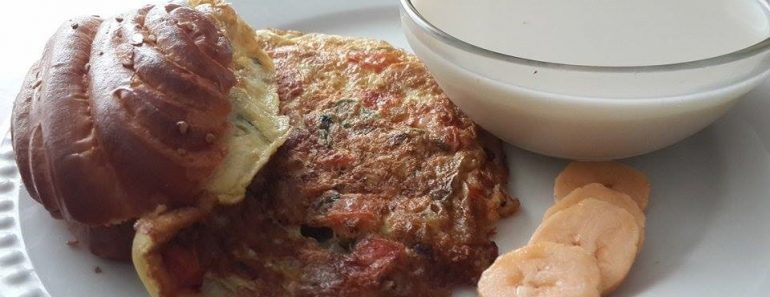 tortilla de huevo con soya 3