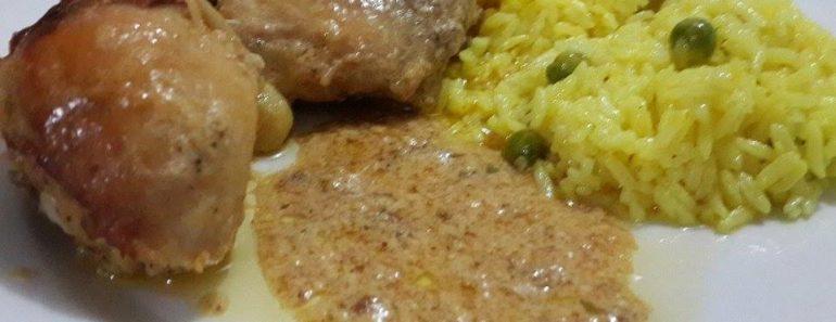 pollito-al-ajo-y-arroz-amarillo-2