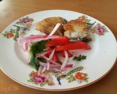 pescadito frito con salsa criolla 2