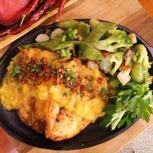 receta de pollo