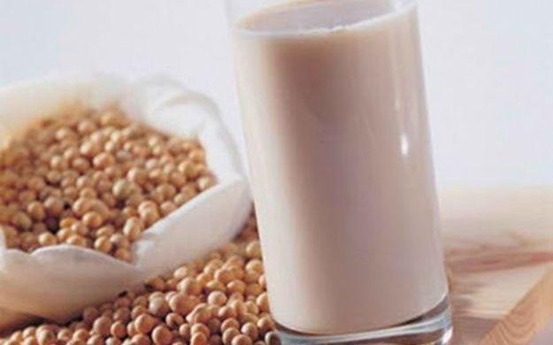 como se prepara leche de soya casera