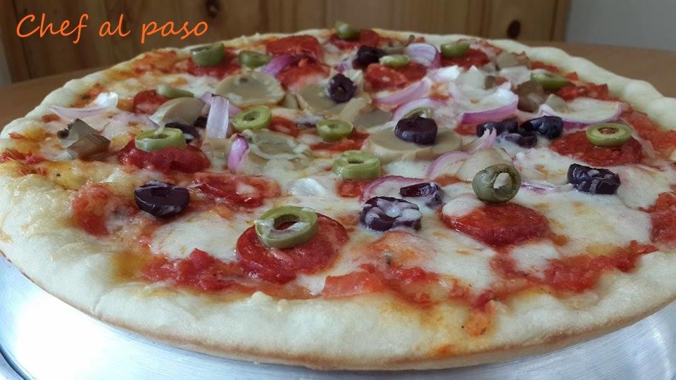 Pizza española 3